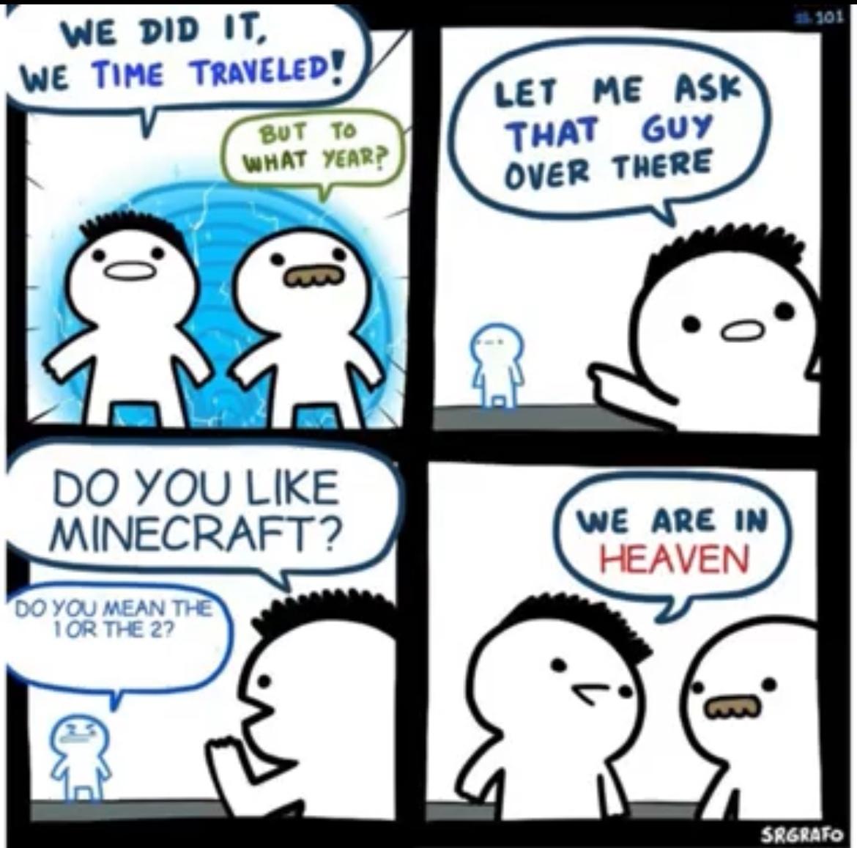 Minecraft 2 - meme