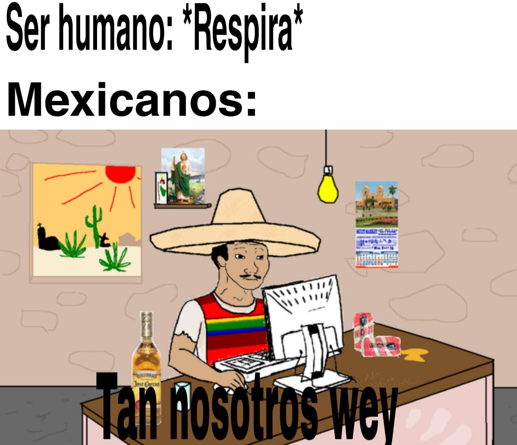 Super único el México - meme
