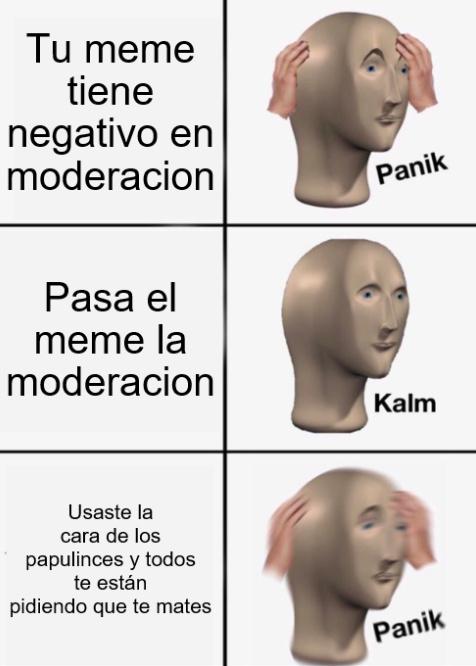 ser papulince deberia ser ilegal - meme