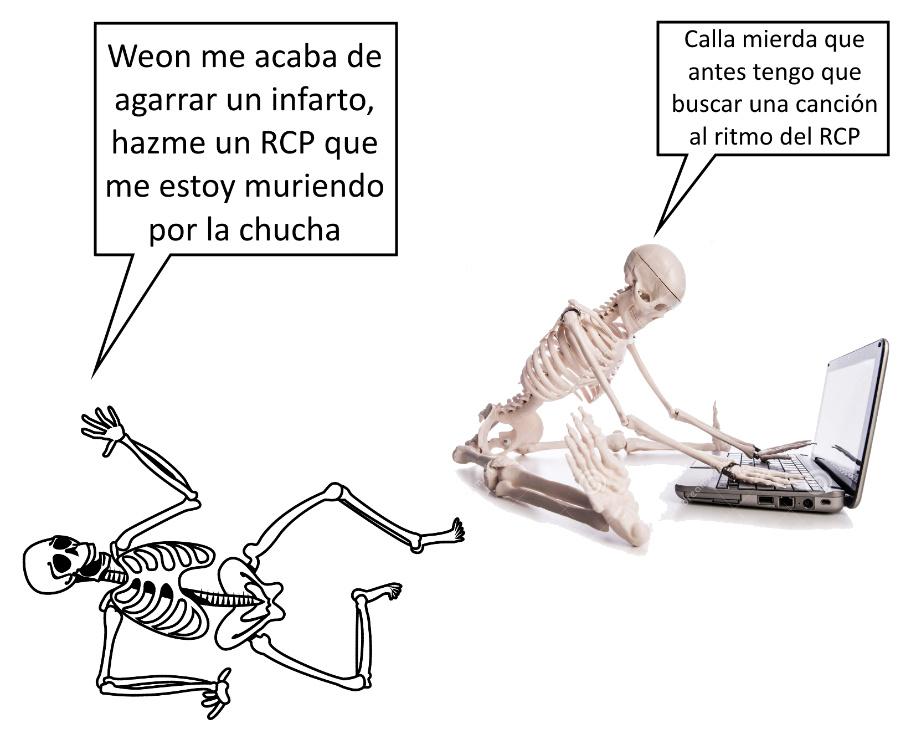 esqueleto - meme
