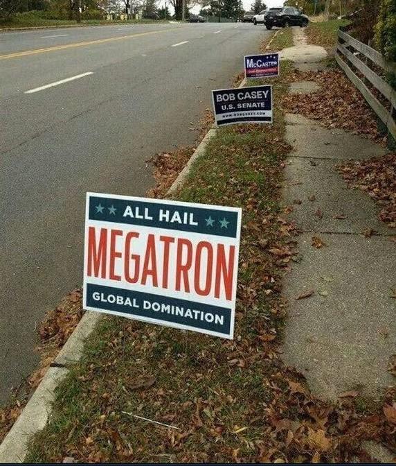 Un kpo el Megatron - meme