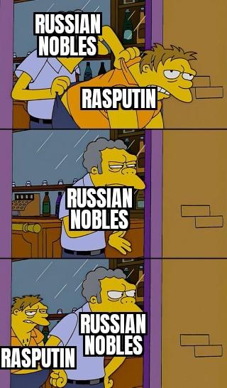 Ra ra rsputin, Russia's biggest uwu-bean - meme