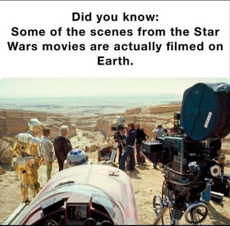 Shit facts - meme