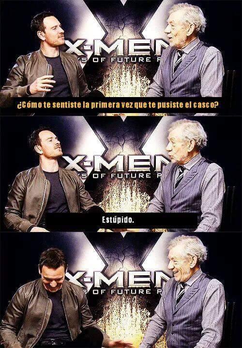 Magneto y magneto - meme