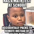 Changing channels at school