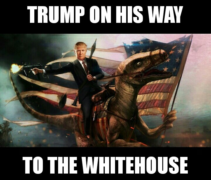 Trump taking 'Merica to new heights - meme
