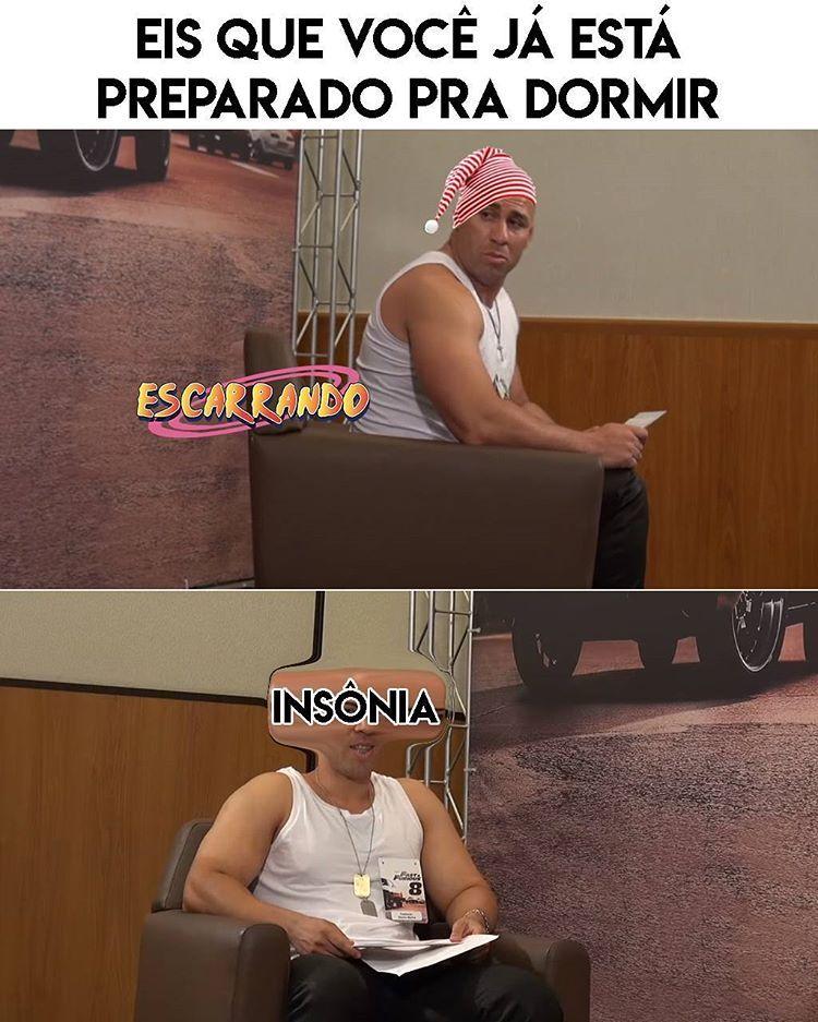 INSÔNIA - meme