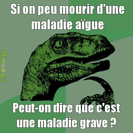 La question existentielle #666 - meme