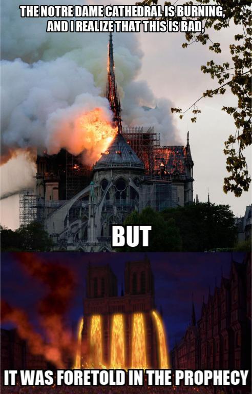 Notre Dame - meme