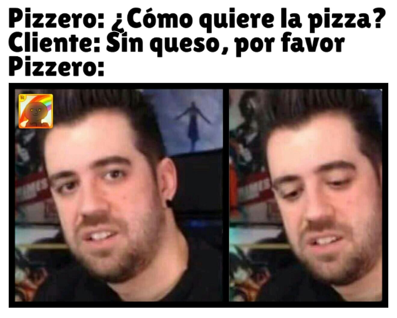 Pizzero - meme
