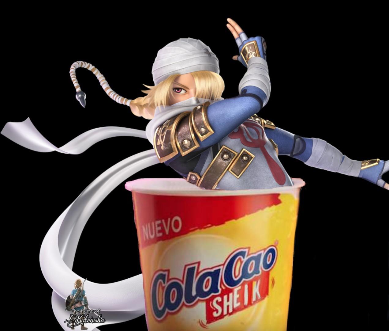 COLACAO SHAKE (SHEIK) - meme