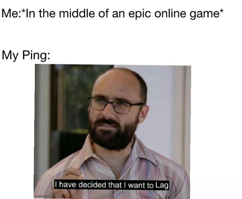 Online Gaming be like... - meme