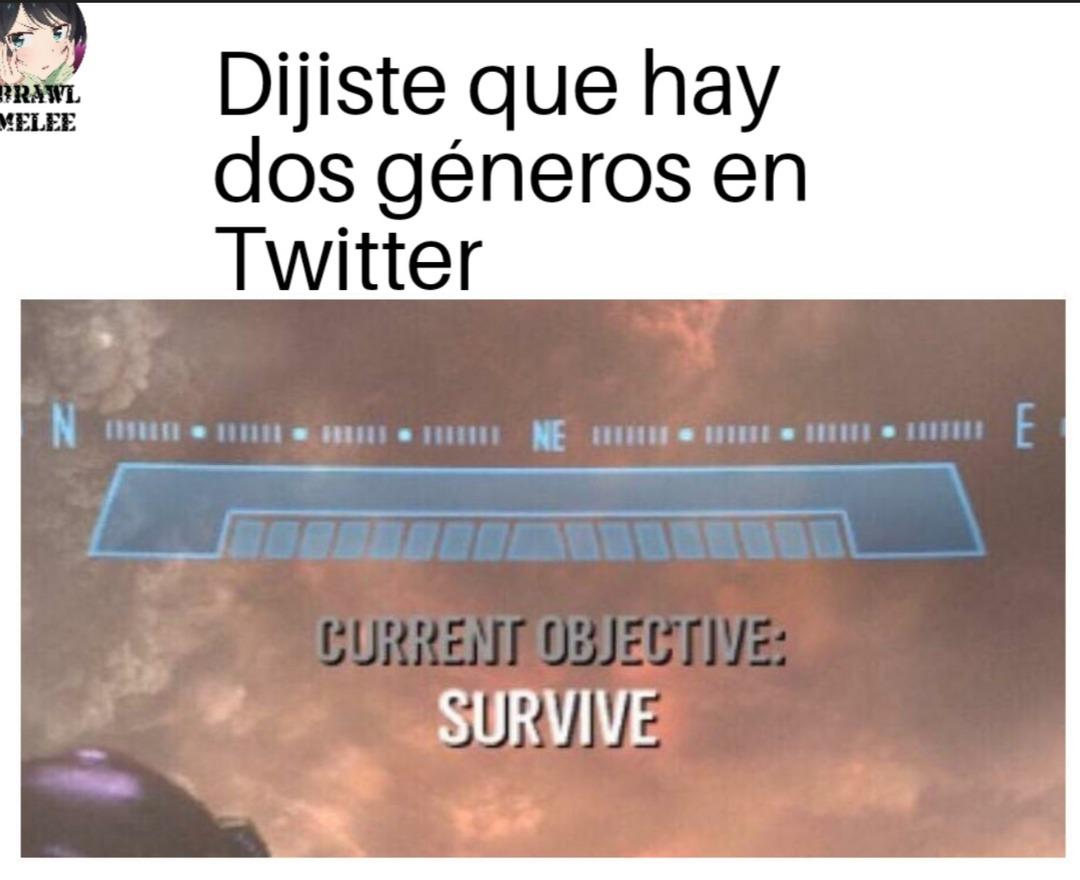 Solo hay 2 generos - meme