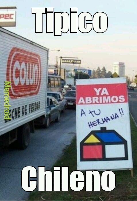 Chilenos :v - meme