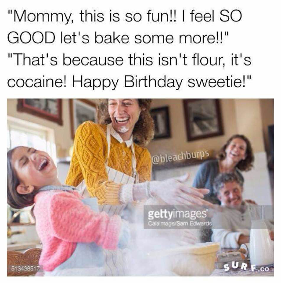 I have no shame in selling cocaine to children - meme