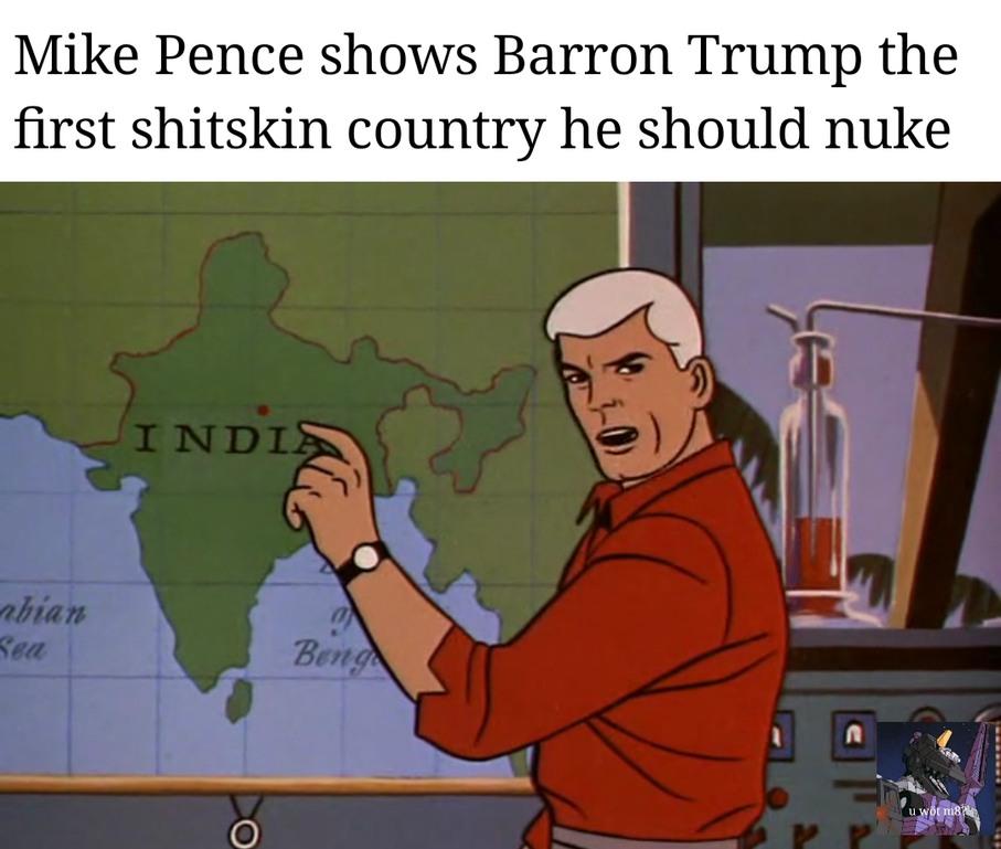 I'm actually half indian! - meme