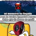Deadpool no es inmortal actualmente