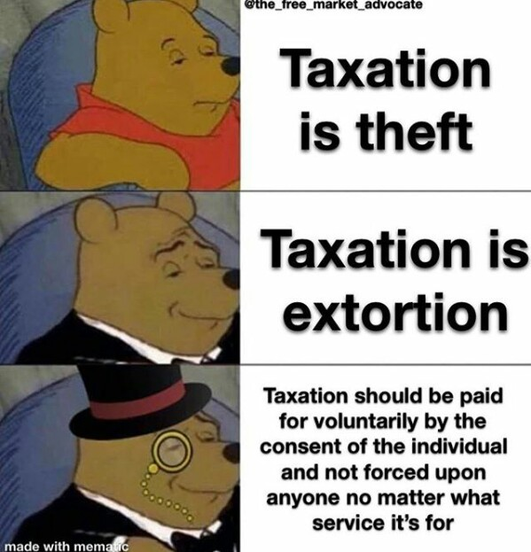 Liberty in a pooh - meme