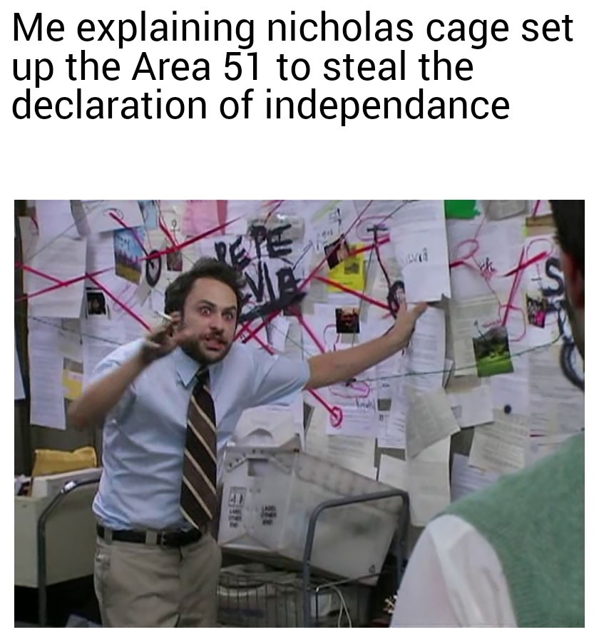 It was all a hoax to move the enforcement to the base - meme