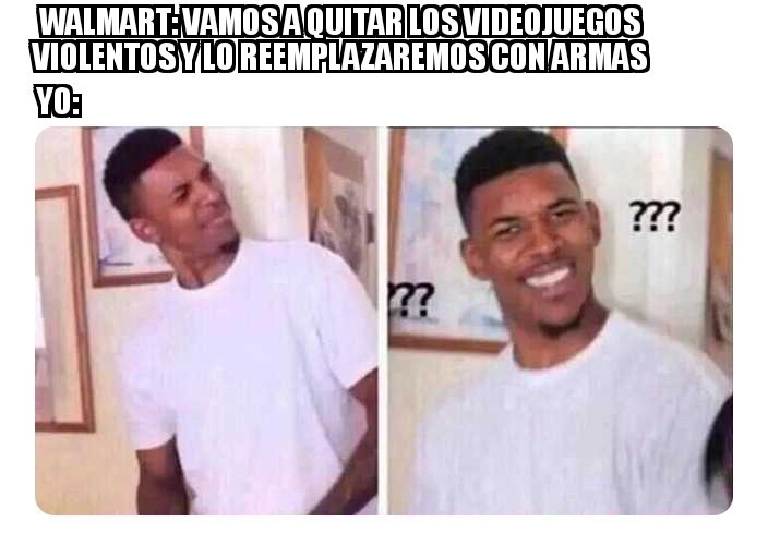 Que diablos Walmart - meme