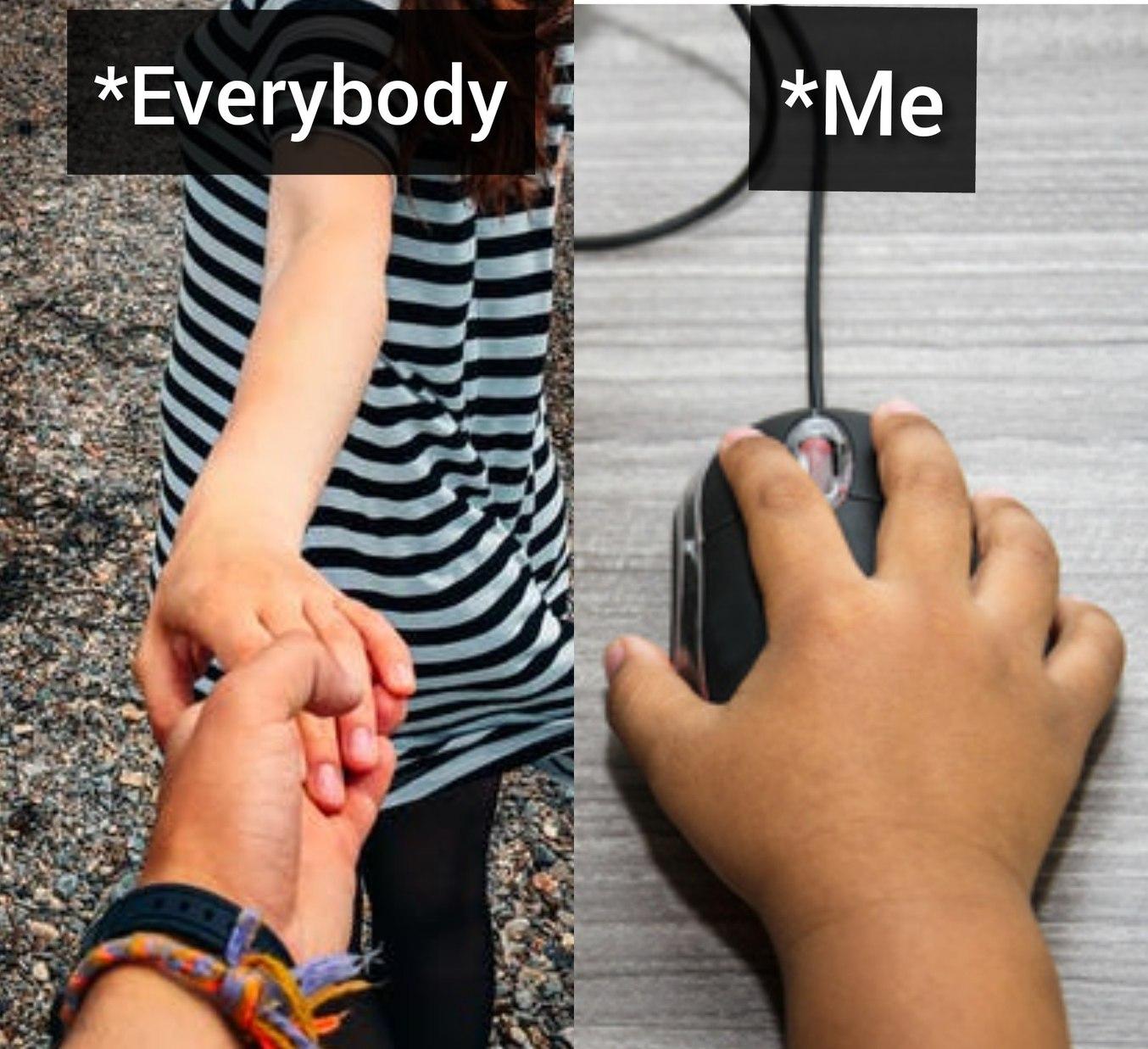 Everybody vs Single Me - meme