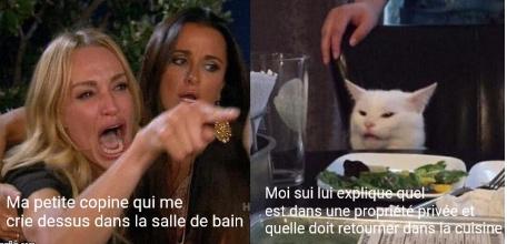 """""""Femme ,retourne d'où tu viens !""""(humour)<( ̄︶ ̄)> - meme"""