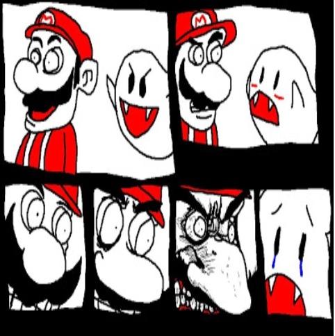Mario do Mal. - meme