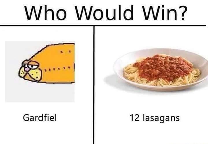 Gardfiel for sure - meme