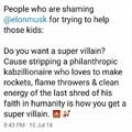 Elon Musk for Batman 2020