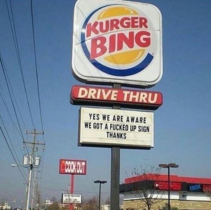 Welcome to Kurger Bing! - meme