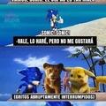 Me siento mal por Sonic