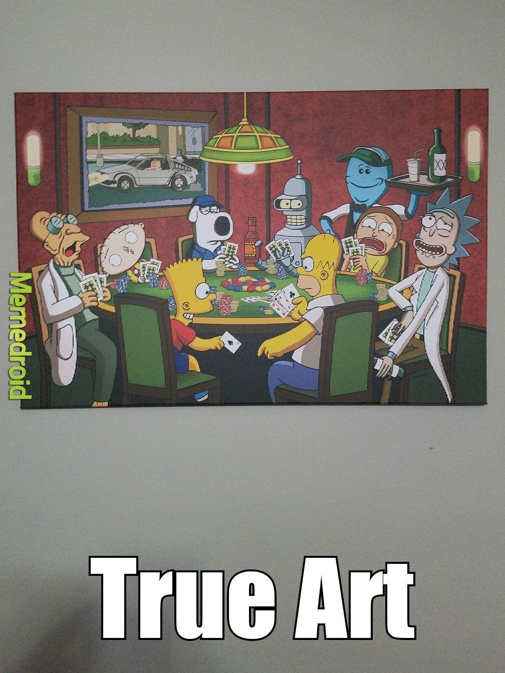 True Art - meme