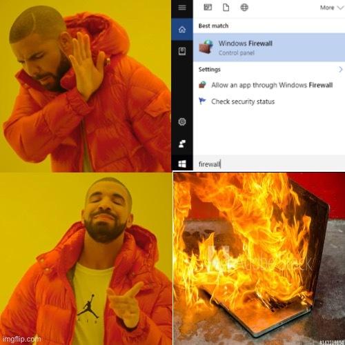 Sólo lo encendí y... - meme