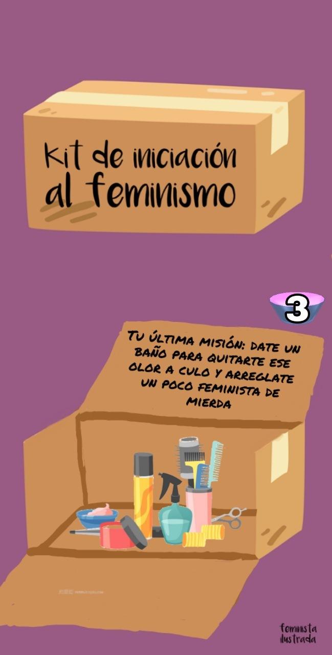 Última misión feminista - meme