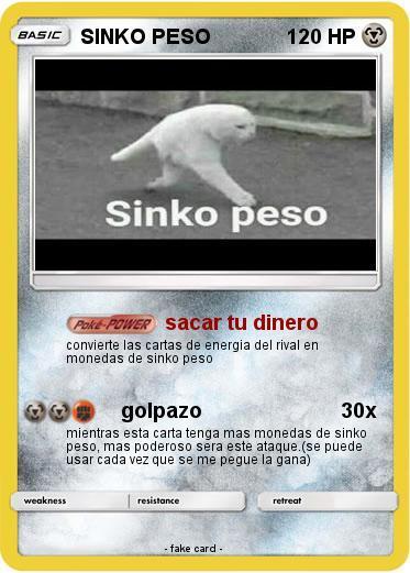 carta pokemon XD - meme