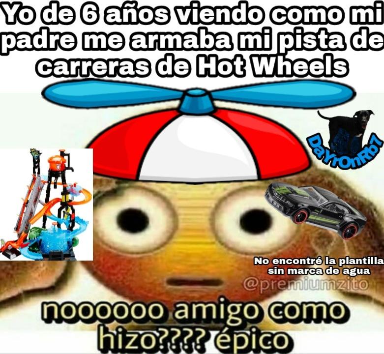 Tengo como 100 coches de hot wheels xD - meme