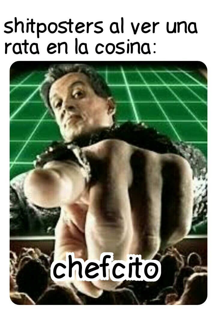 *incerte música de Ratatouille* - meme