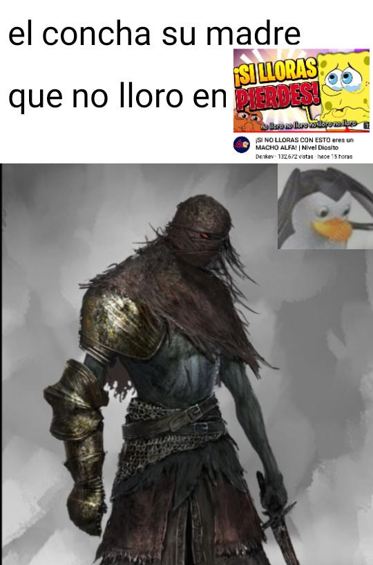 El que no llora,es Dios - meme