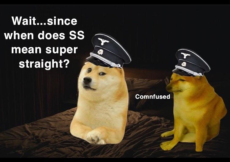 super straight - meme
