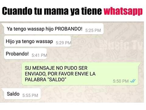 Madres actuales - meme