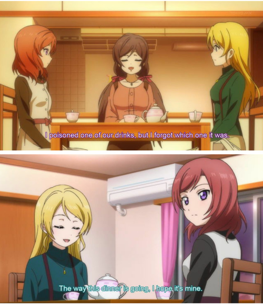 Anime is Love Live! School Idol Project - meme