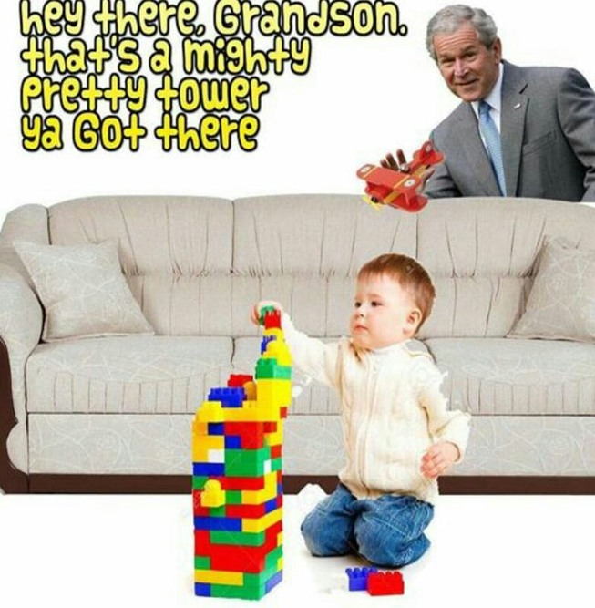 bush did 7/11 - meme