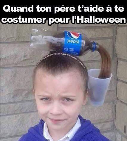 Idée de costume pour Halloween - meme