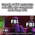 Cague llego el FBI
