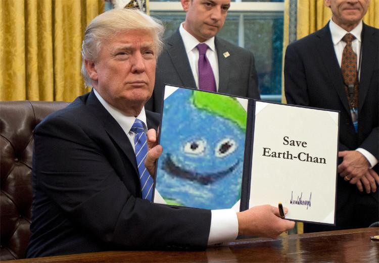 Please Earth hour - meme