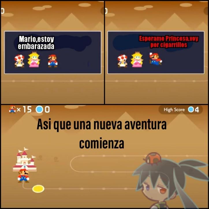 Mario Maker 2 - meme