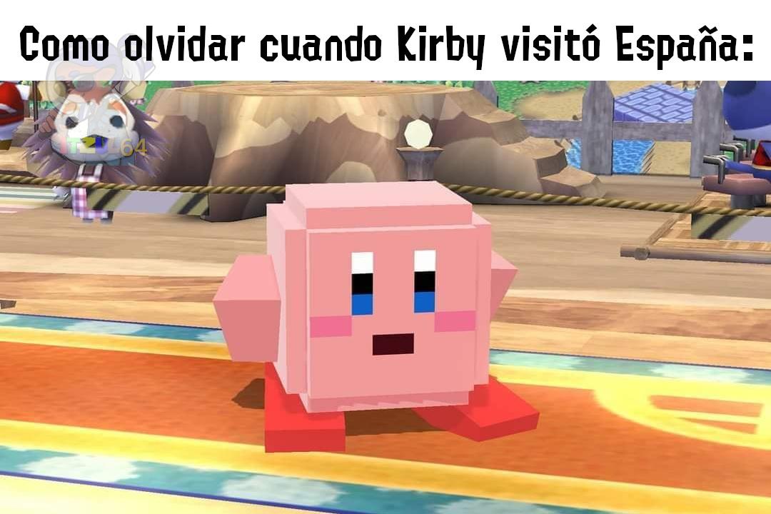 Kirby Hispano - meme