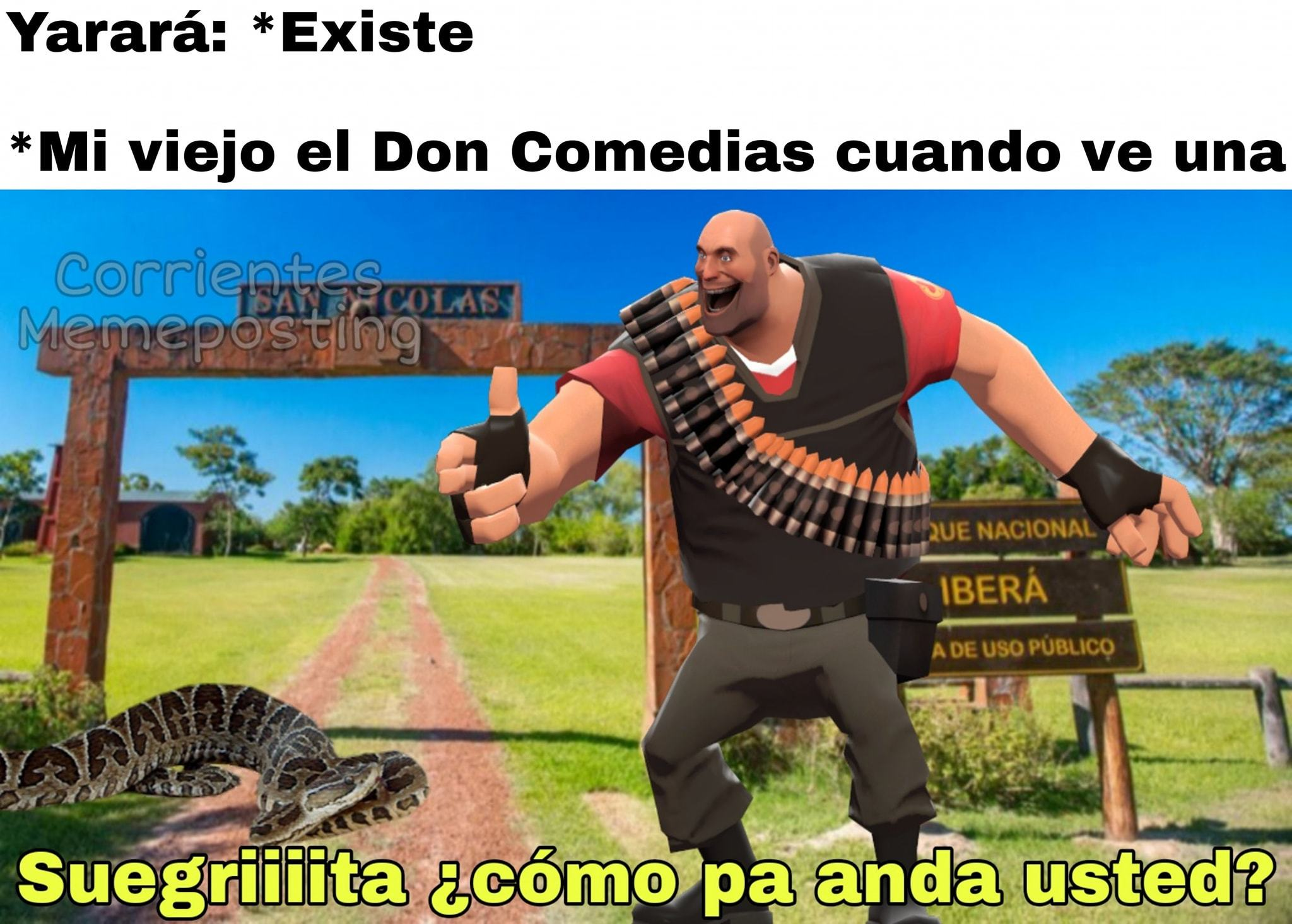 don comedia correntino - meme