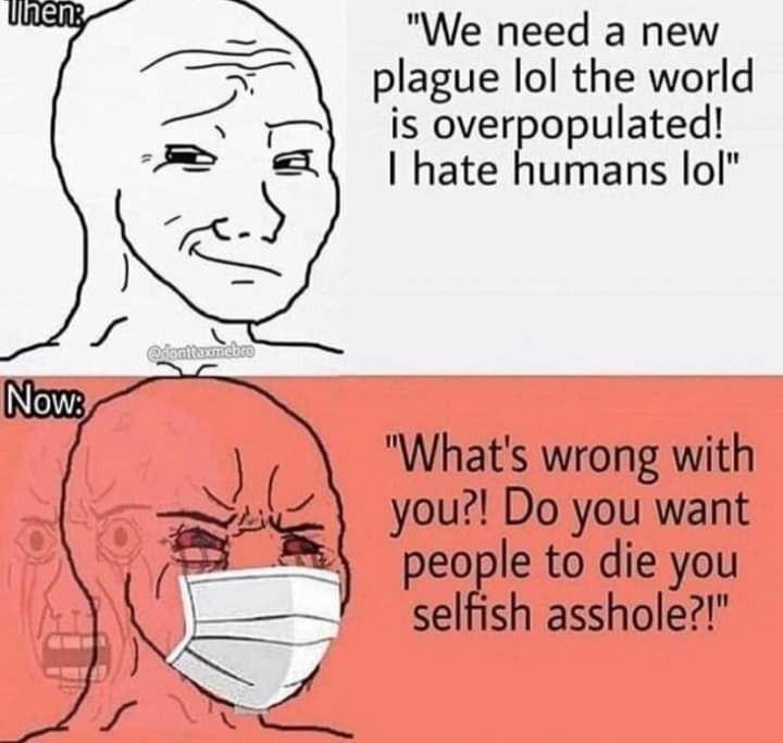 Who knows someone who has said this - meme
