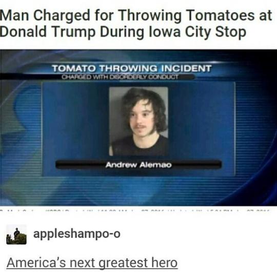 I would've thrown pickles - meme